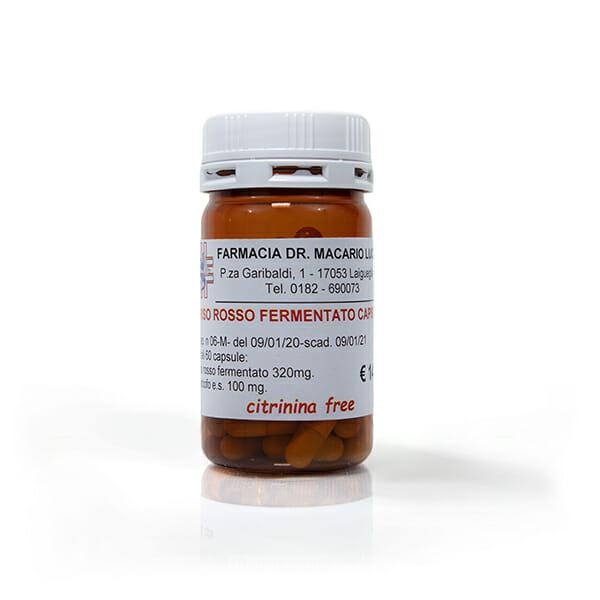 Farmacia Macario Riso rosso fermentato 600